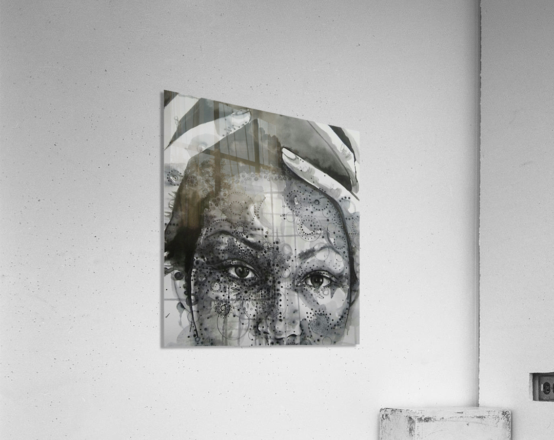 Love and Distress  Acrylic Print