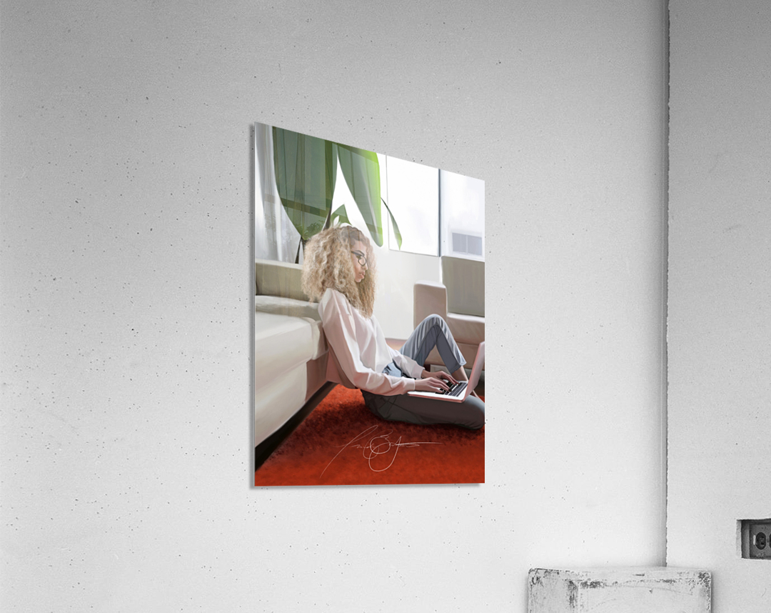 college dorm  Acrylic Print