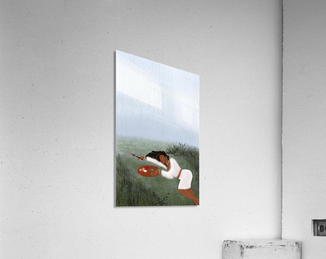 Freedom Painter  Acrylic Print