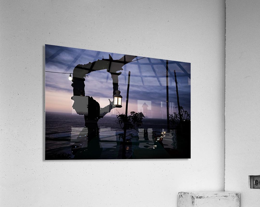 Lanterne de Lima  Impression acrylique