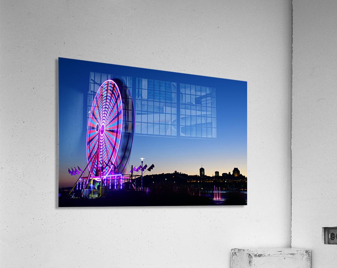 La Grande Roue  Impression acrylique