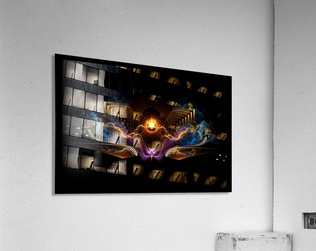 Treasure Of Night Fractal Art  Acrylic Print