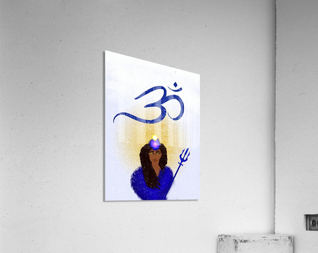 Om Goddess  Acrylic Print