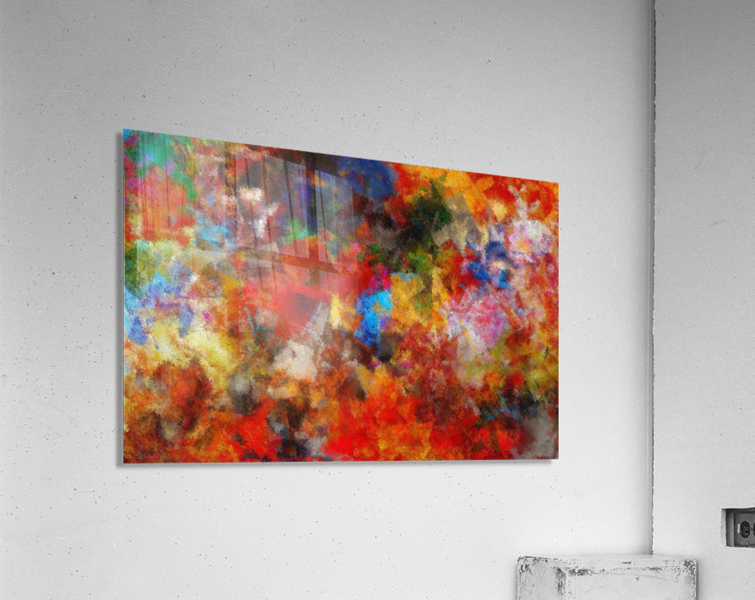 Vivid Life  Acrylic Print