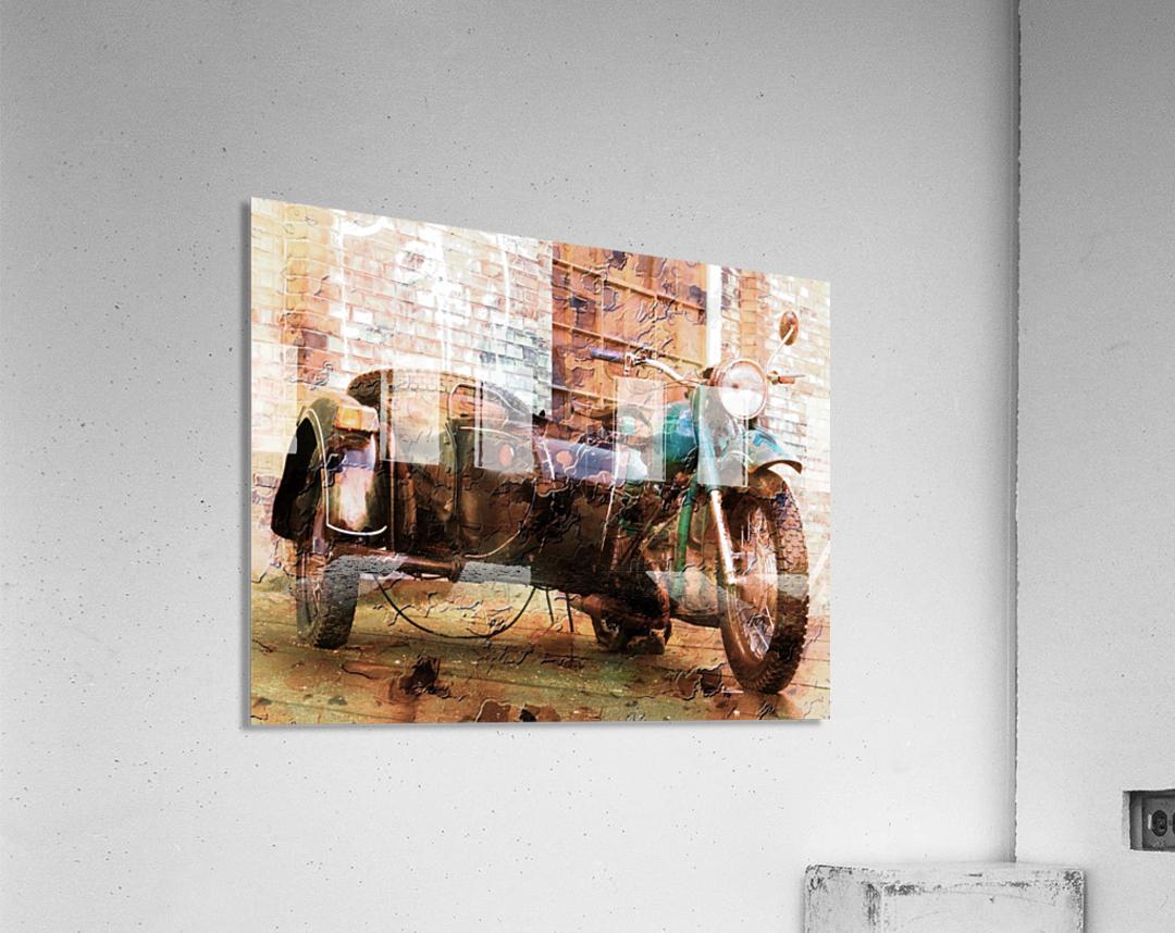 The Backroads of My Mind  Acrylic Print