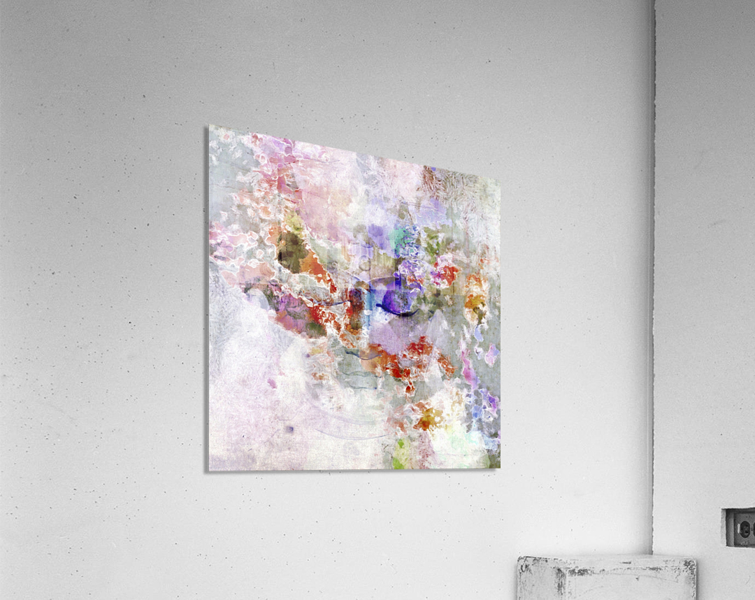 Mind in Meditation  Acrylic Print