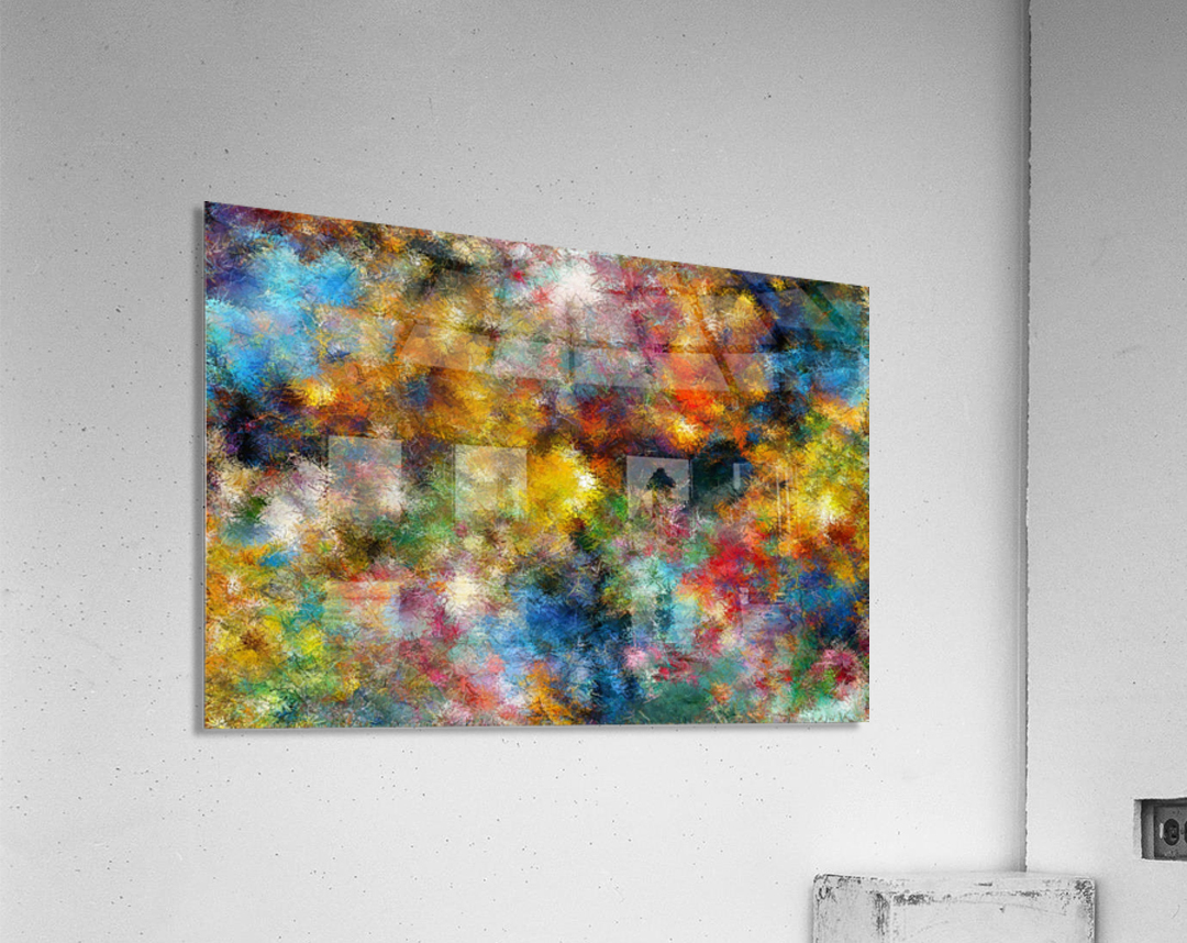 Clouds and Lights  Acrylic Print