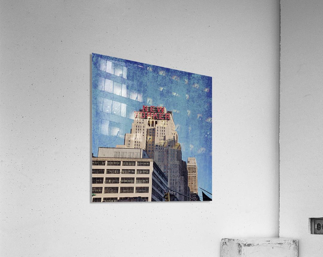 new york med  Acrylic Print