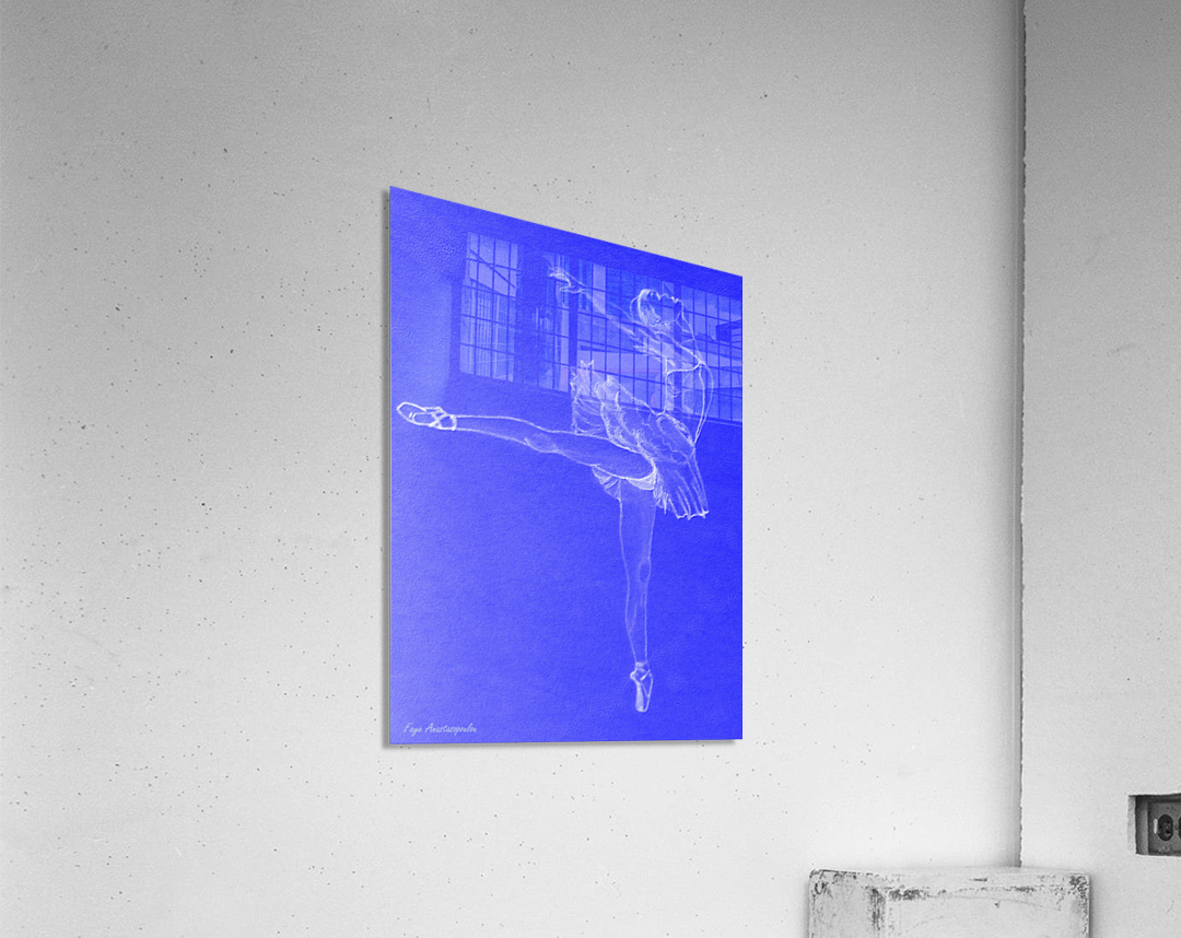 Celestial Ballerina  Acrylic Print