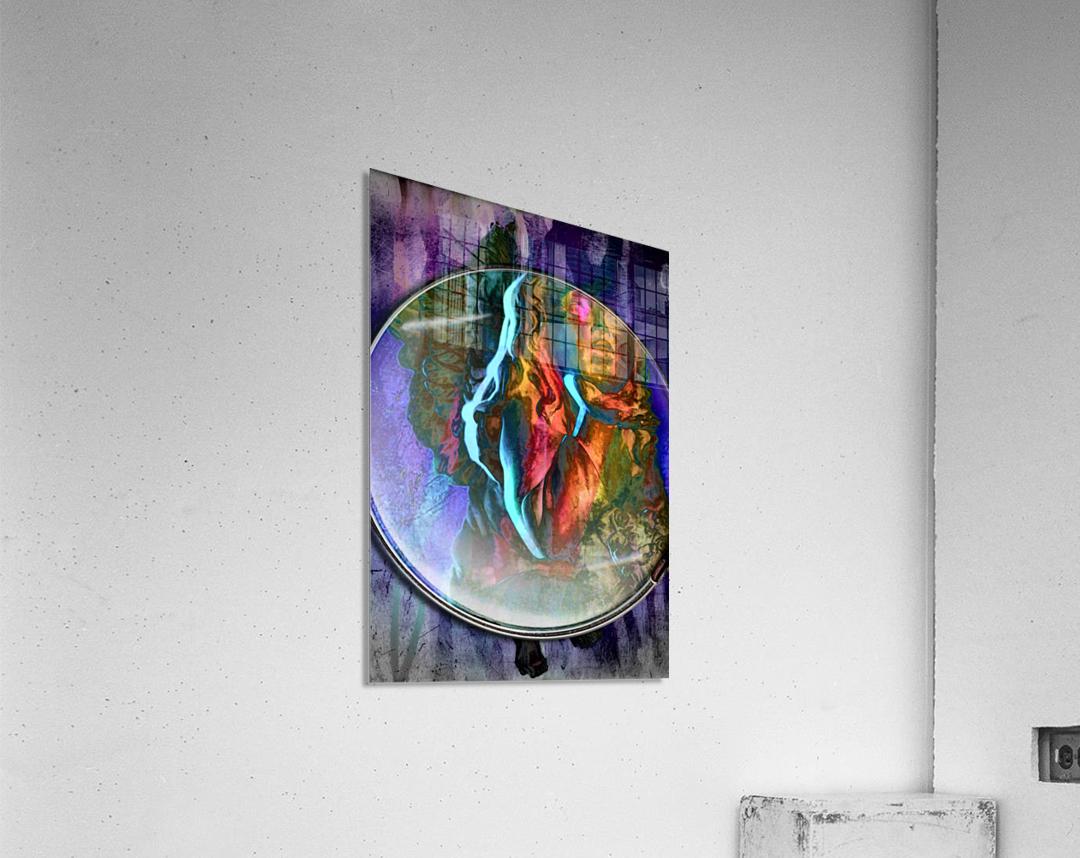 The Child Angel  Acrylic Print