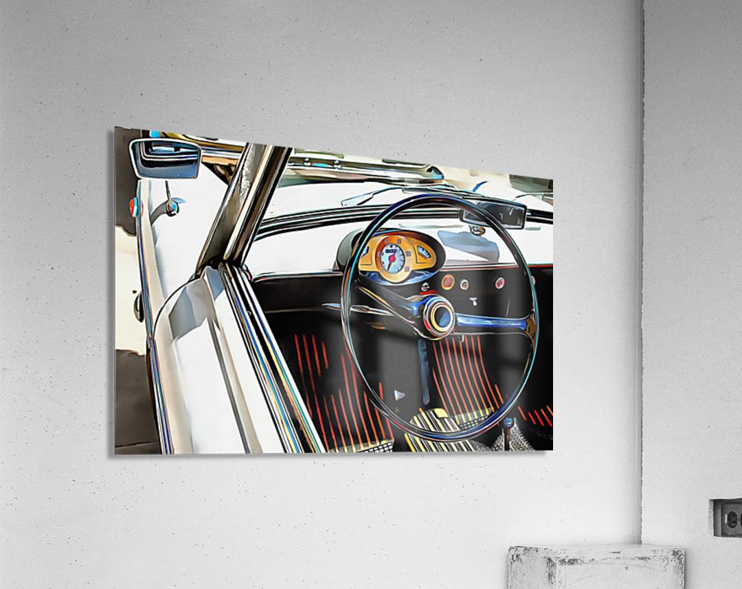Autobianchi Bianchina Through The Window  Acrylic Print