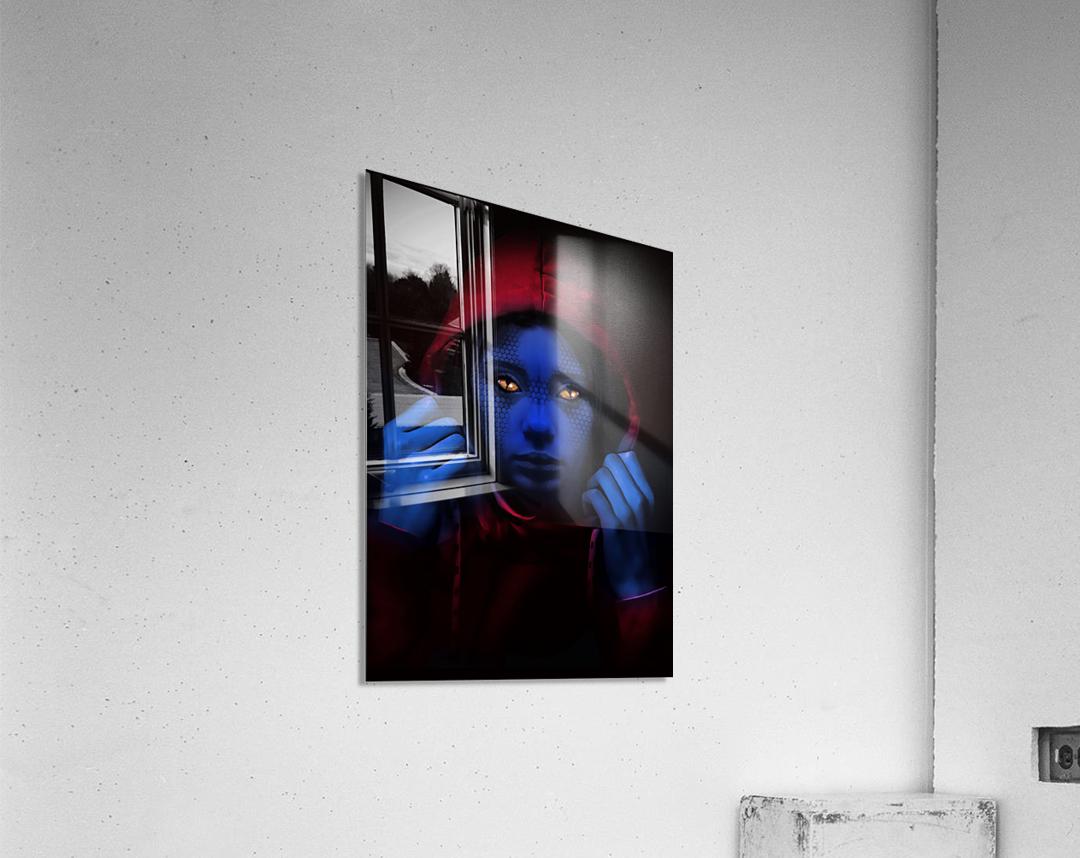 Blue Indigo  Acrylic Print