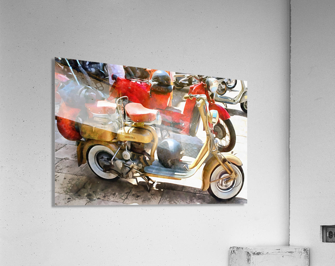 Make Mine a Lambretta  Acrylic Print