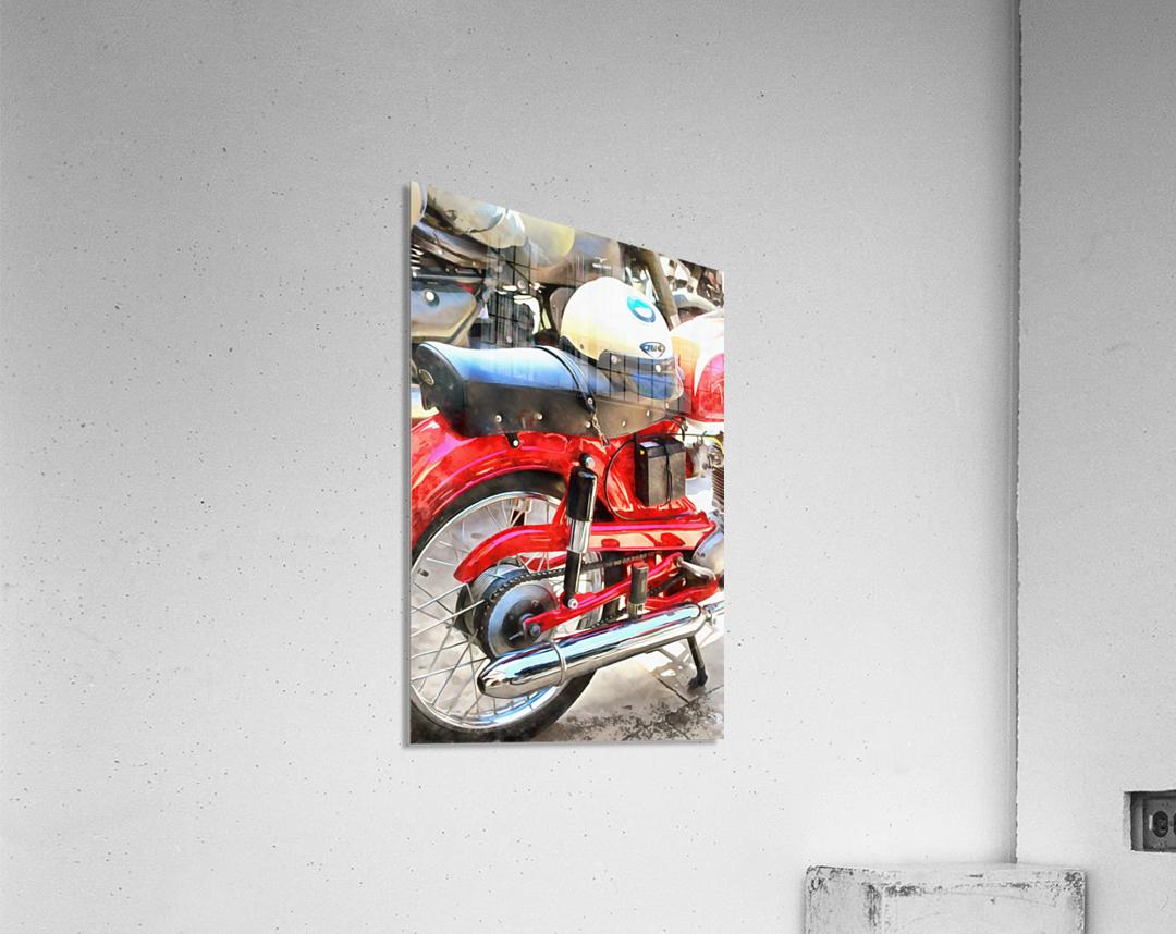 Neatly Parked  Acrylic Print