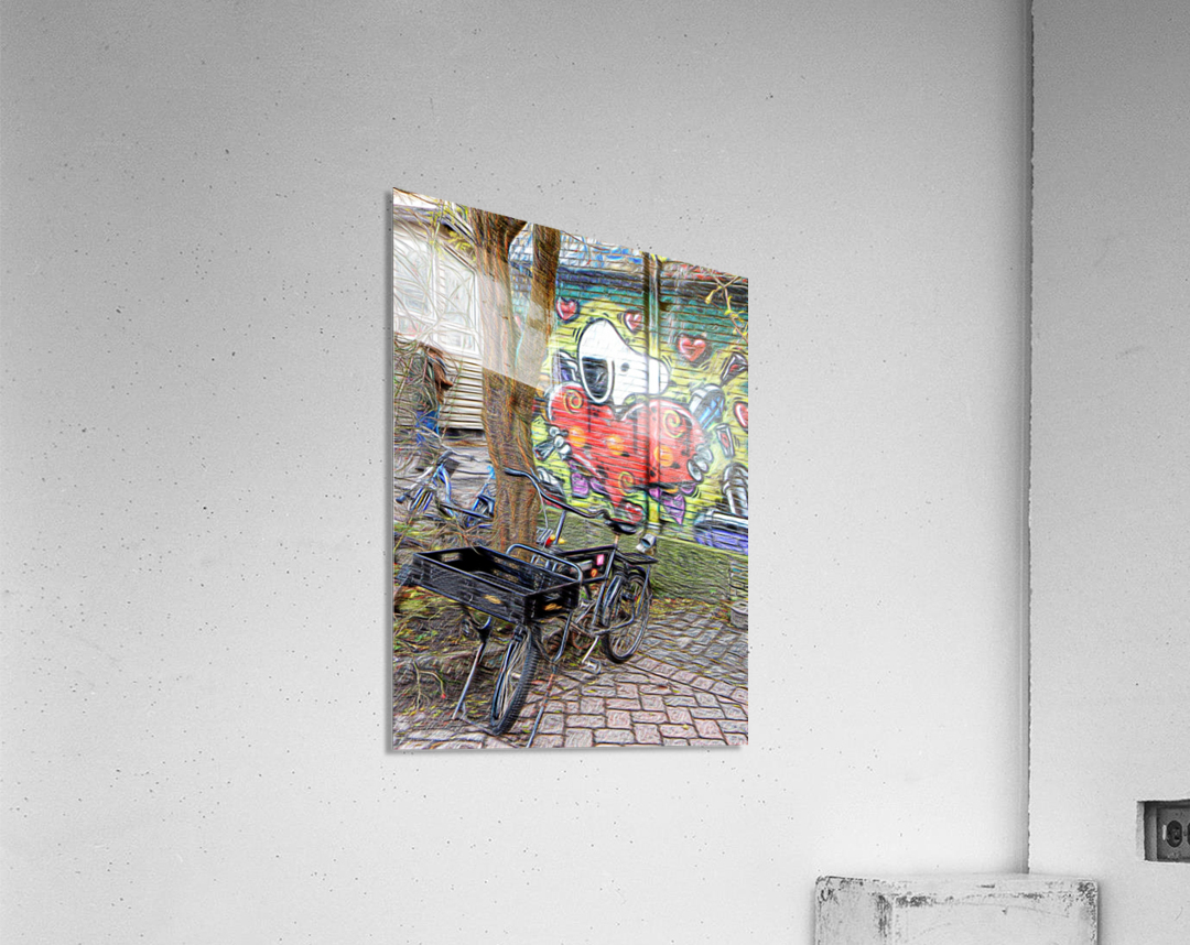 Bicycles at Rest  Acrylic Print