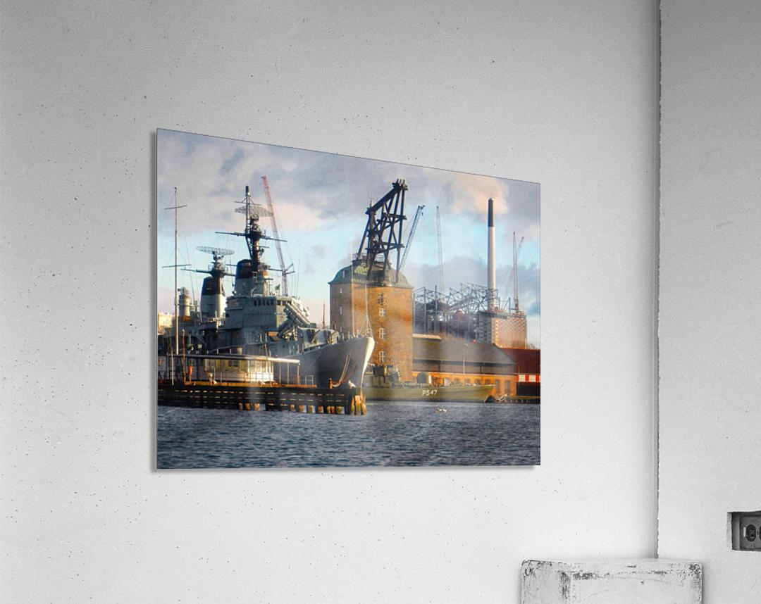Ships at Holmen  Acrylic Print