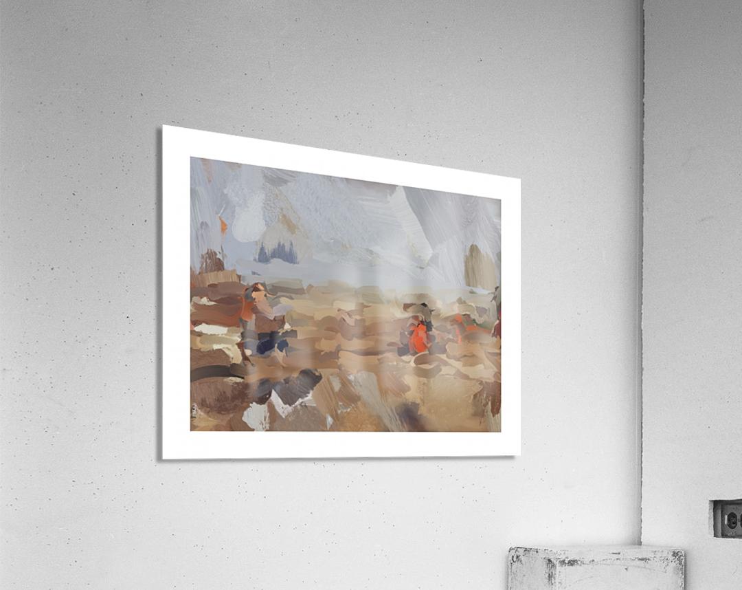 The Beach at 50th St  Acrylic Print