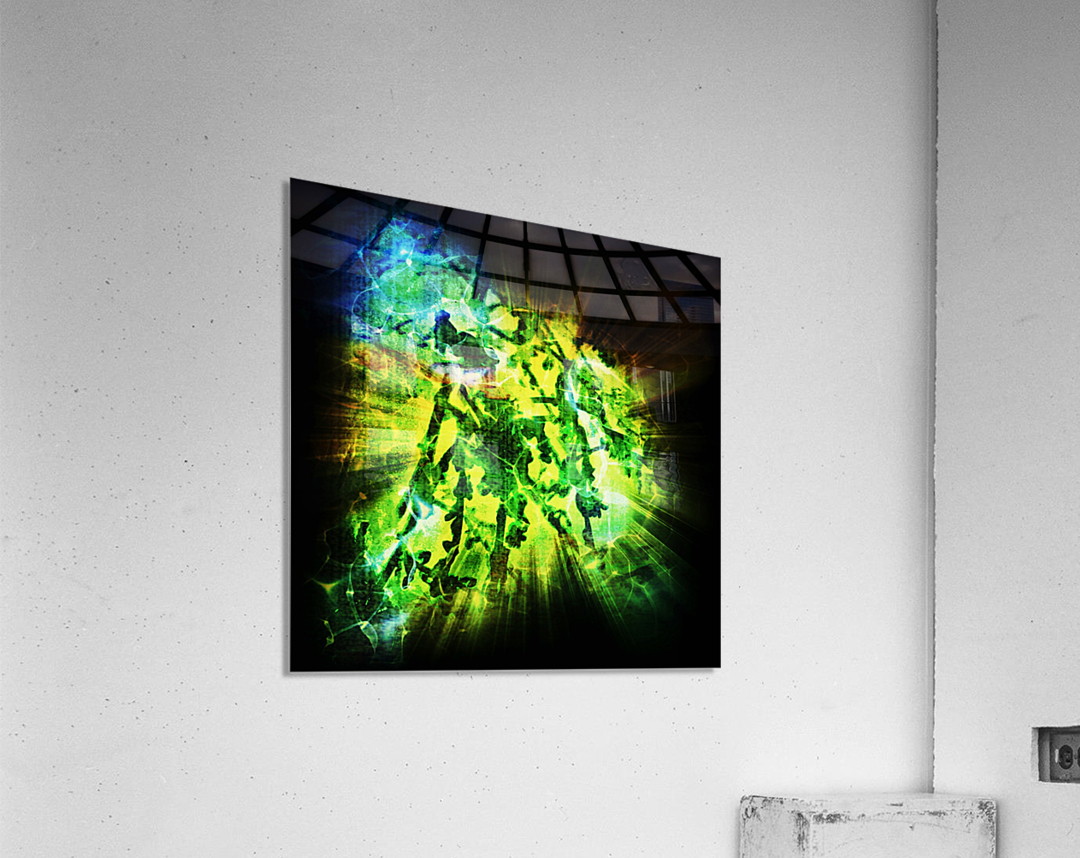 Battle WON  Acrylic Print