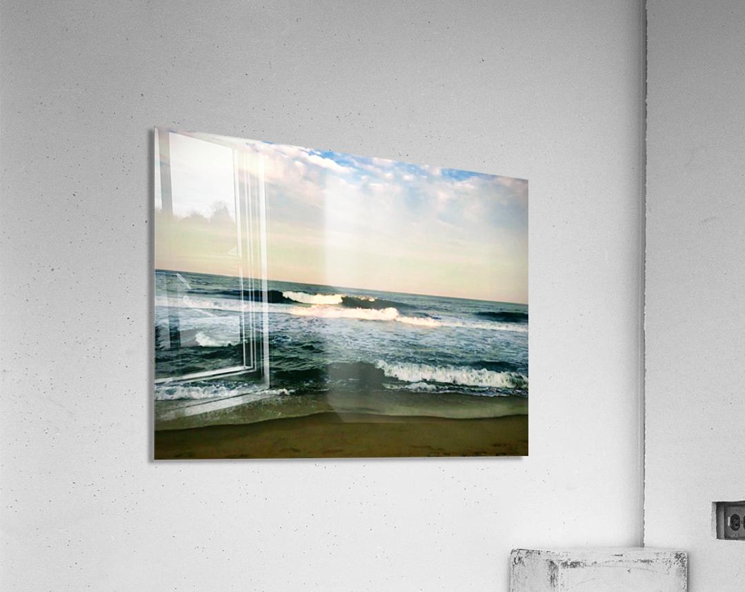 July Surf  Acrylic Print