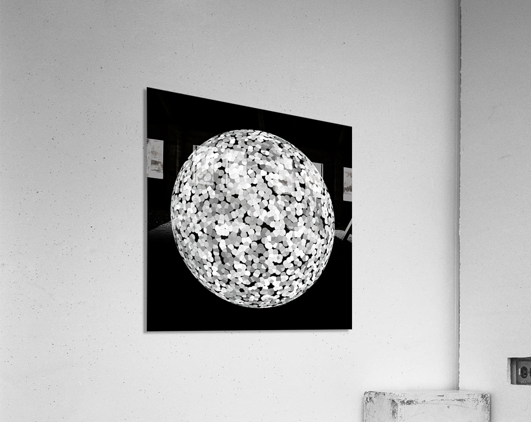 RONDO black & white  Acrylic Print