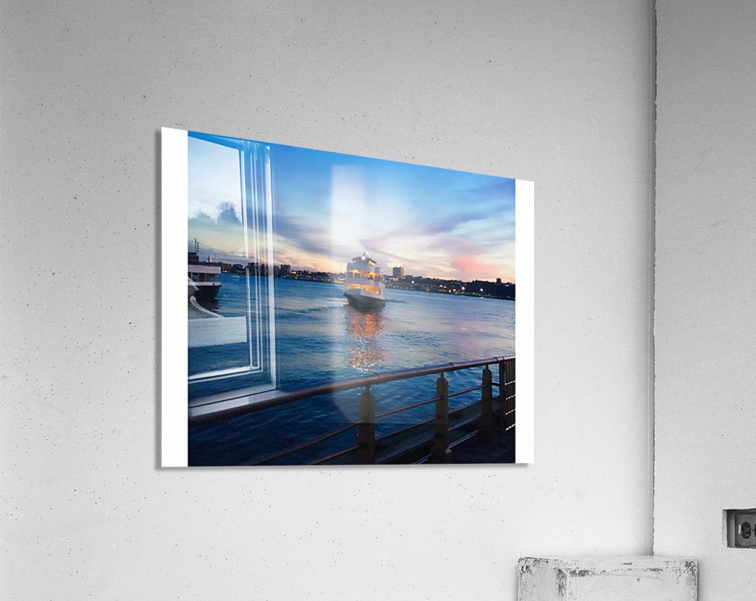 Sky & Sea  Acrylic Print