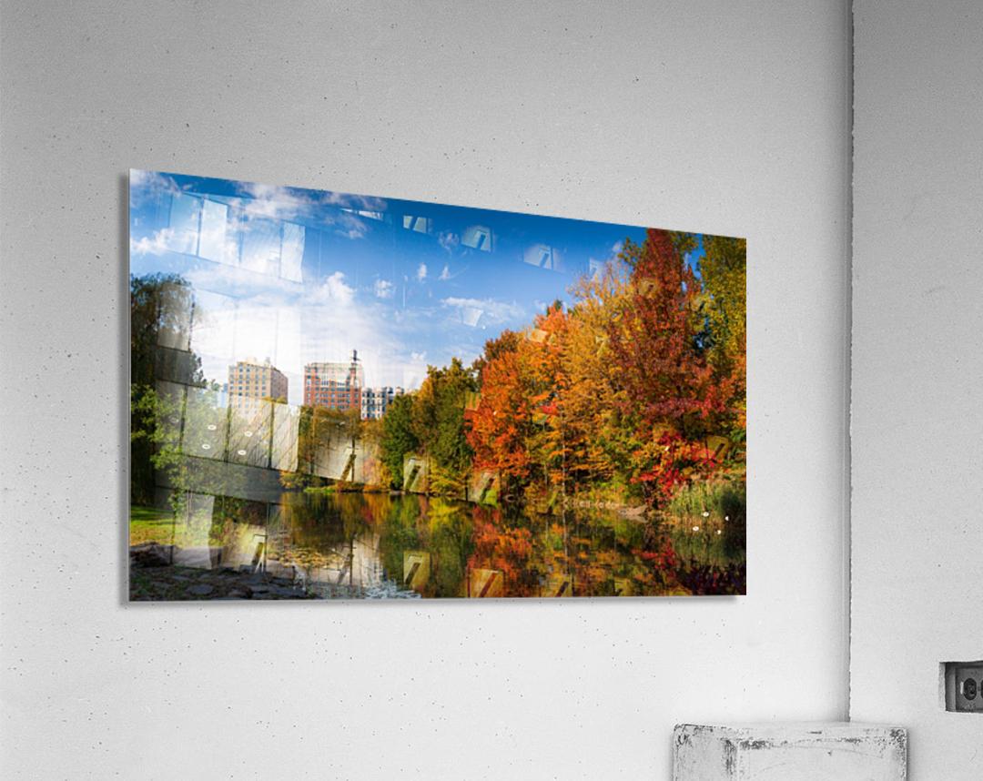 Fall colors in NY  Acrylic Print
