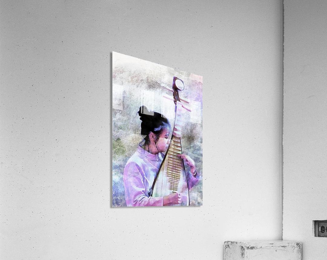 Chinese Musical Interlude  Acrylic Print