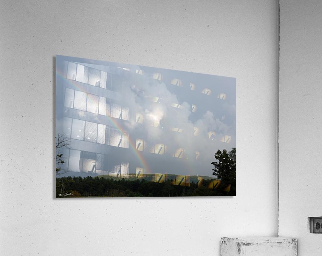 Rainbow Ridge  Acrylic Print