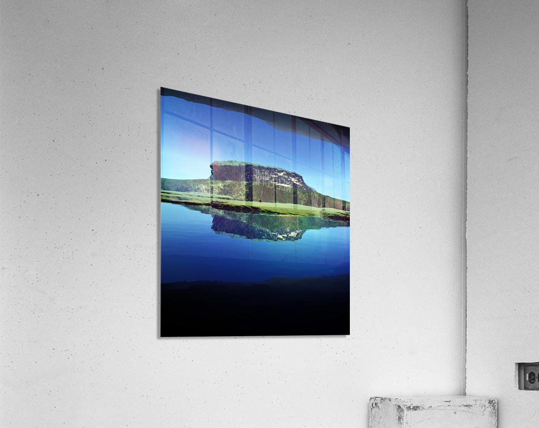 Distant Plateau  Acrylic Print