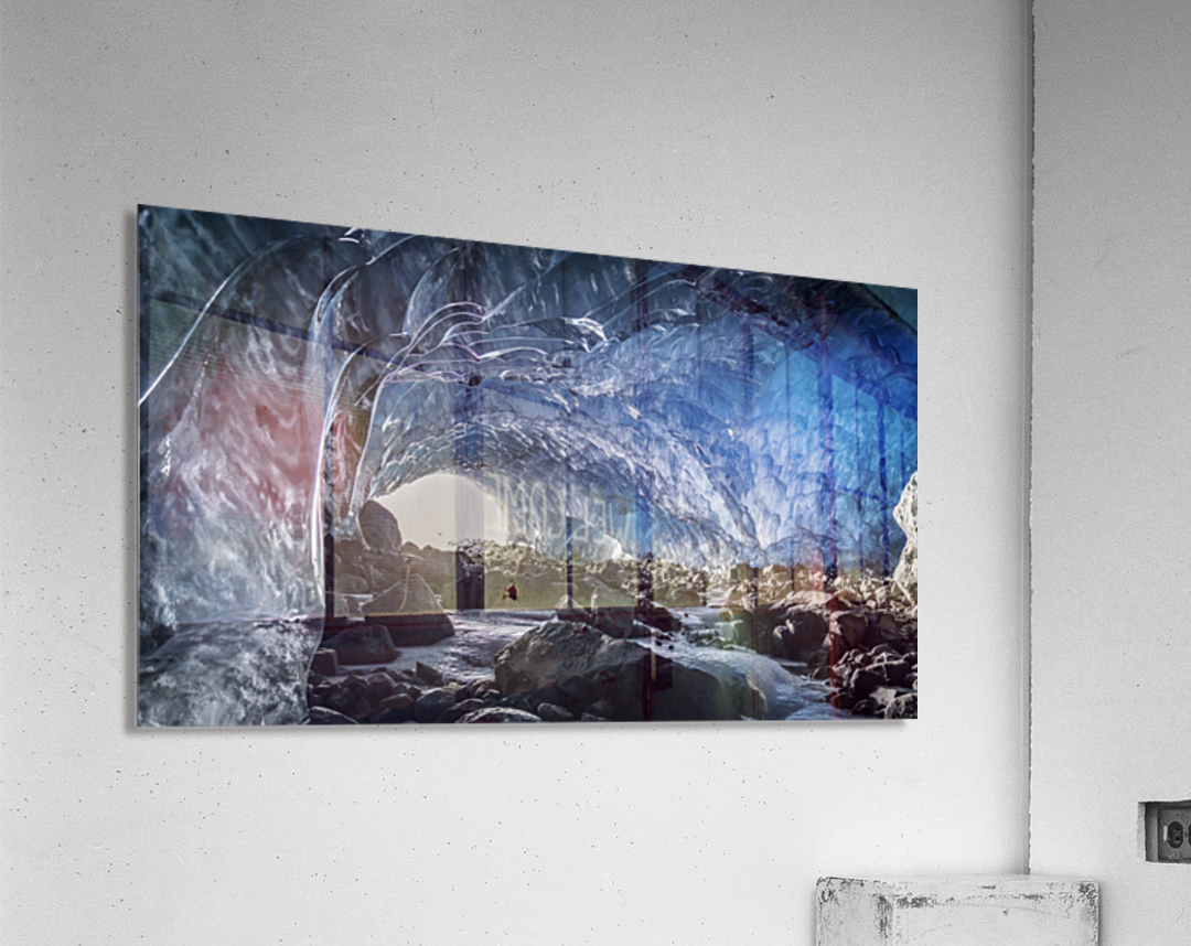 Whistler ice cave  Acrylic Print