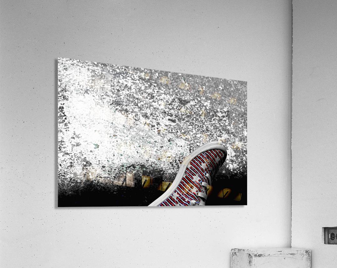 Shoes On  Acrylic Print