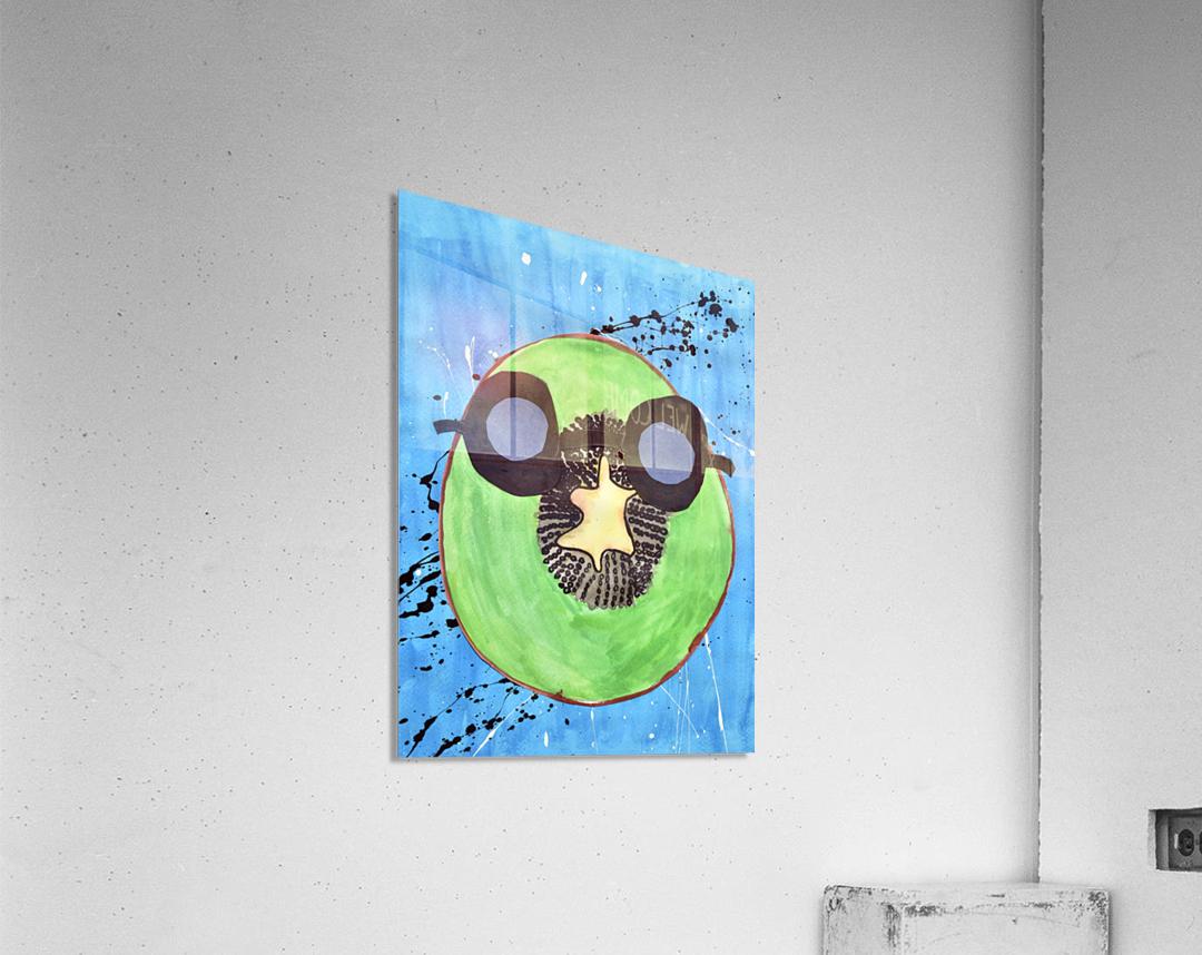 Kiwi Man. Michael D  Acrylic Print