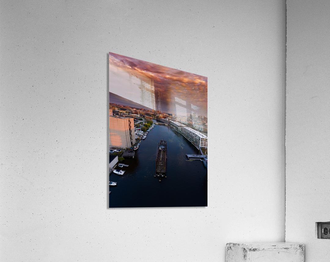Milwaukee Floating Railway  Impression acrylique