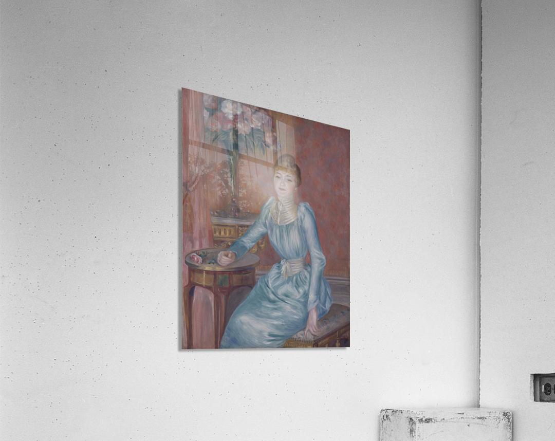 Portrait of Madame de Bonnieres  Acrylic Print