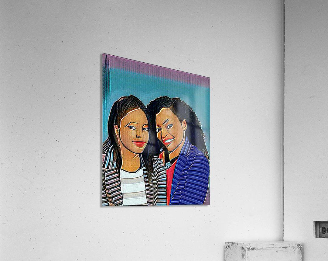 Mummys girl  Acrylic Print