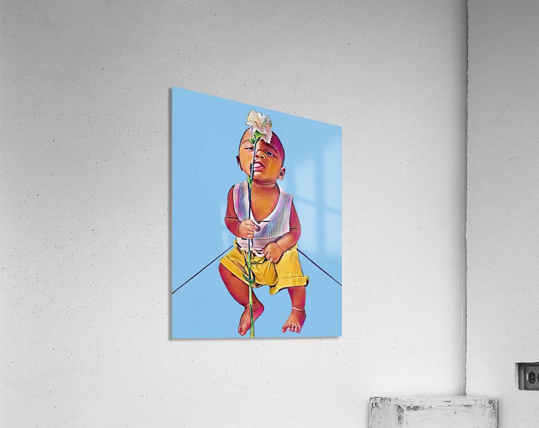 Mr Romantic  Acrylic Print