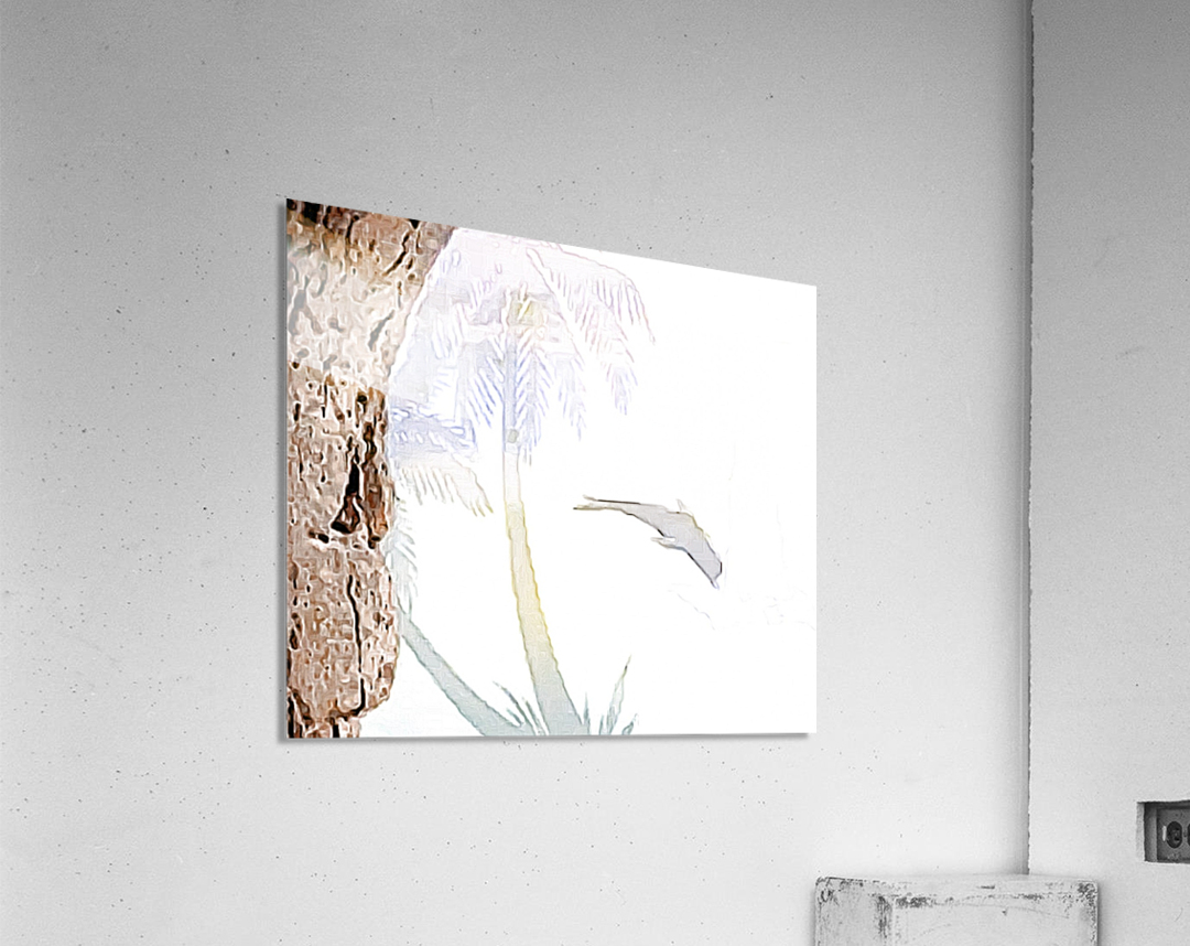 Beautiful encounters   Acrylic Print