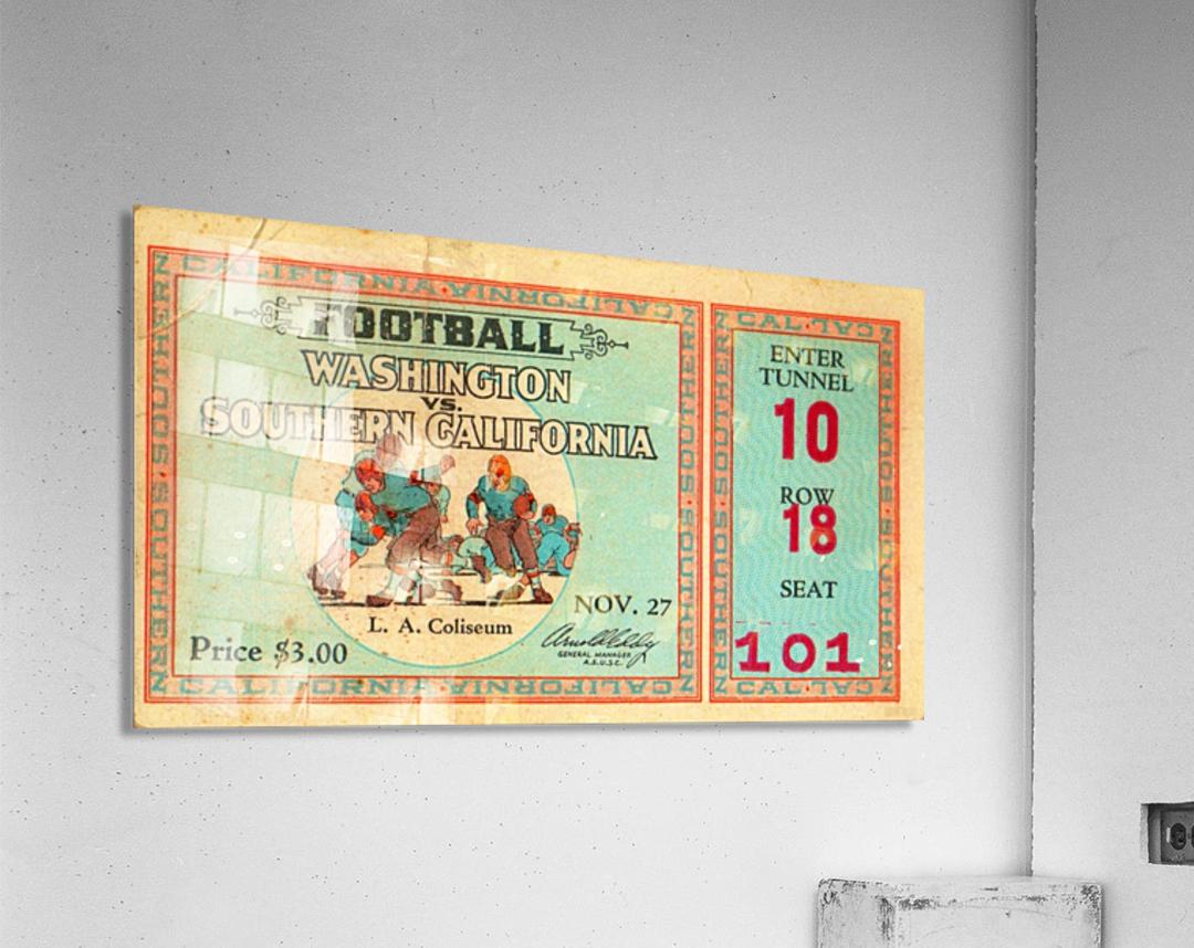1930 Washington vs. USC  Acrylic Print