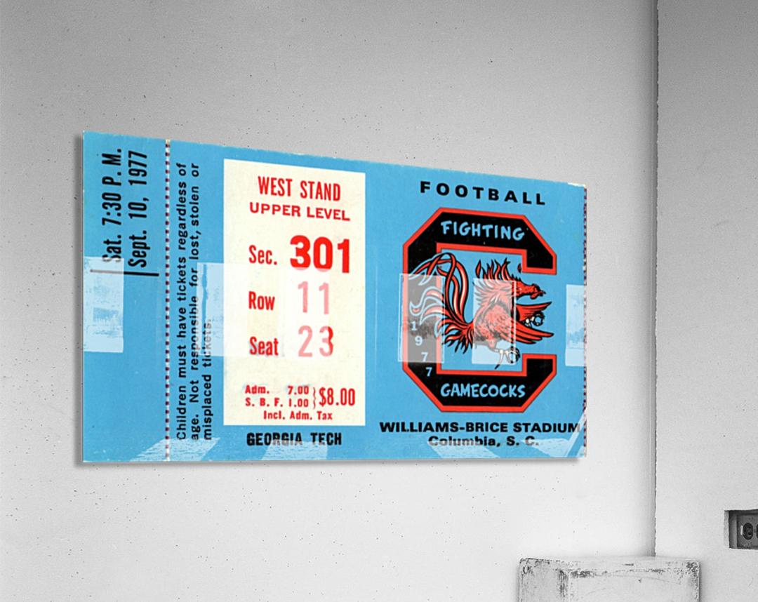 1977_College_Football_Georgia Tech vs. South Carolina_Williams Brice Stadium_Row One Brand  Acrylic Print
