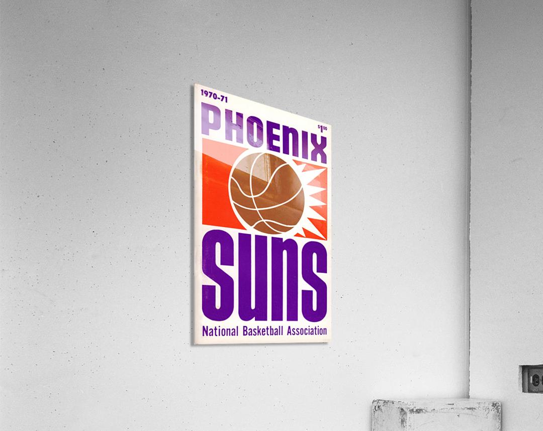 1970 Phoenix Suns  Acrylic Print