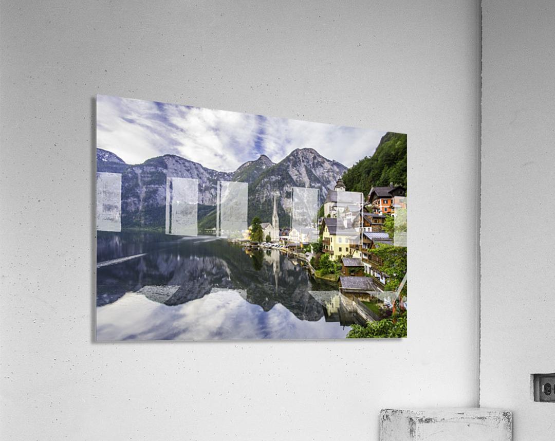 Hallstatt Sunrise  Acrylic Print