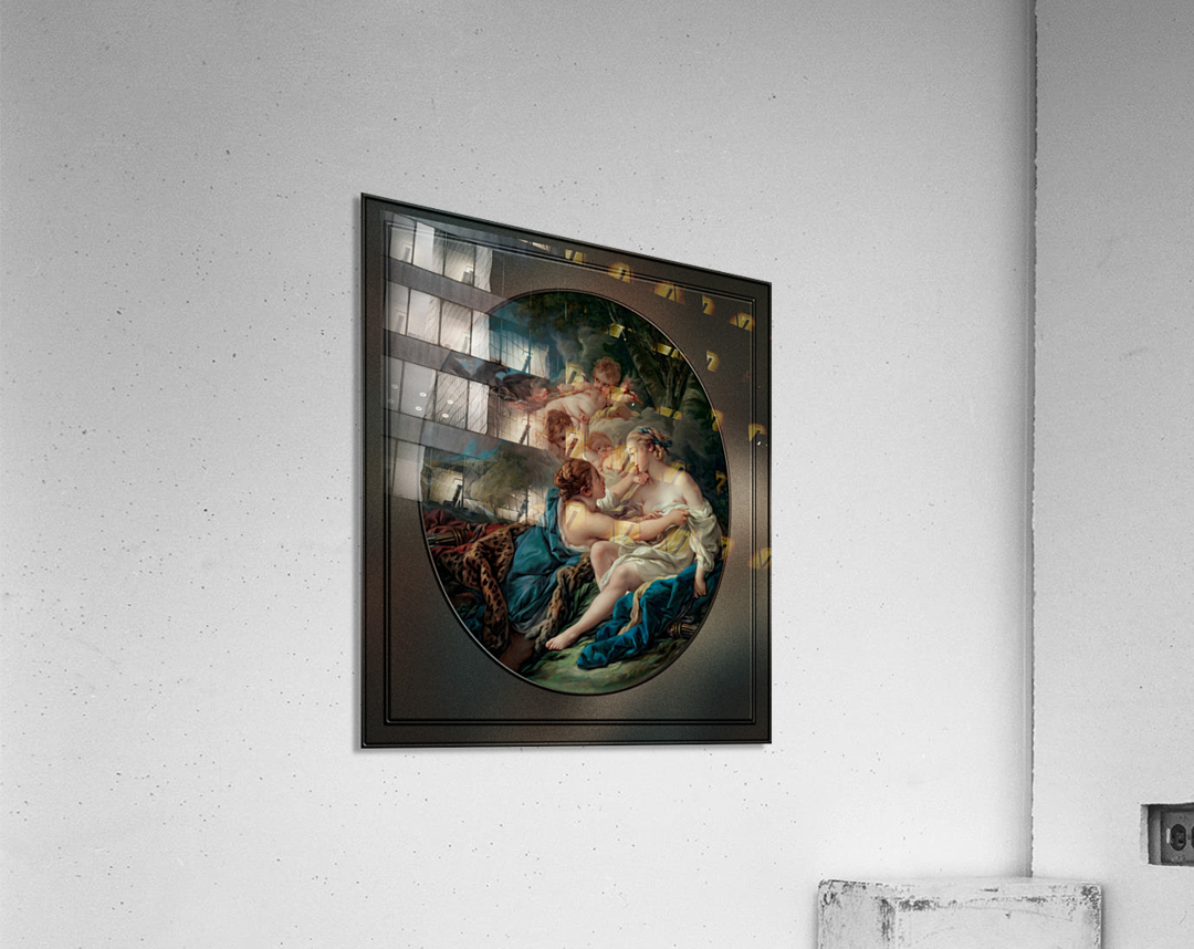 Jupiter In The Guise Of Diana And Callisto by Francois Boucher  Acrylic Print