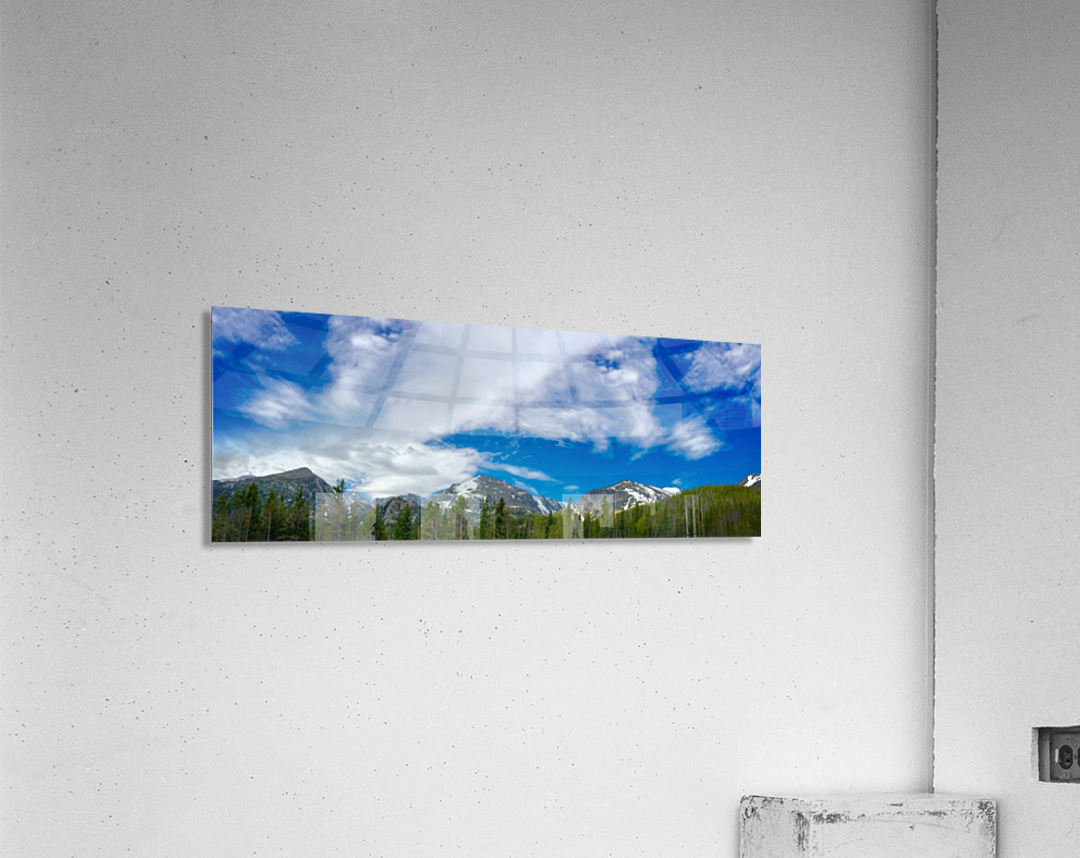 Rocky Mountain Range  Acrylic Print