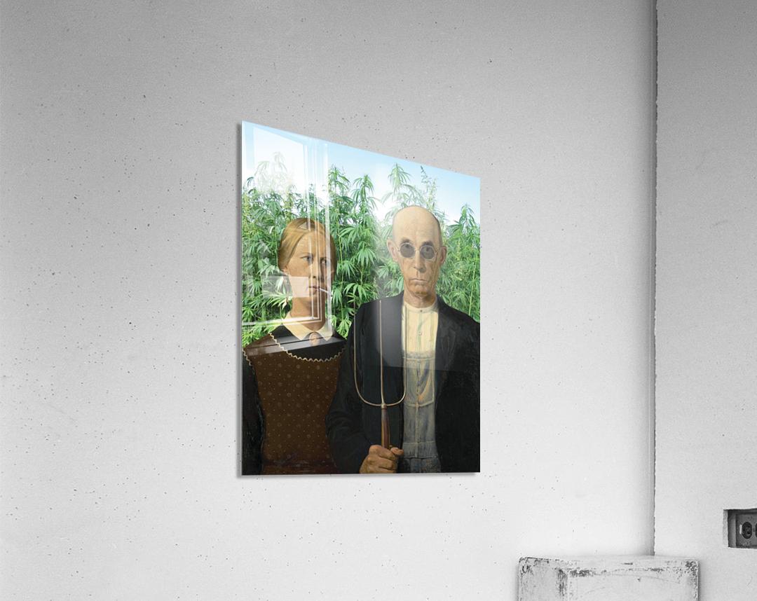 Modern Day Farmers  Acrylic Print