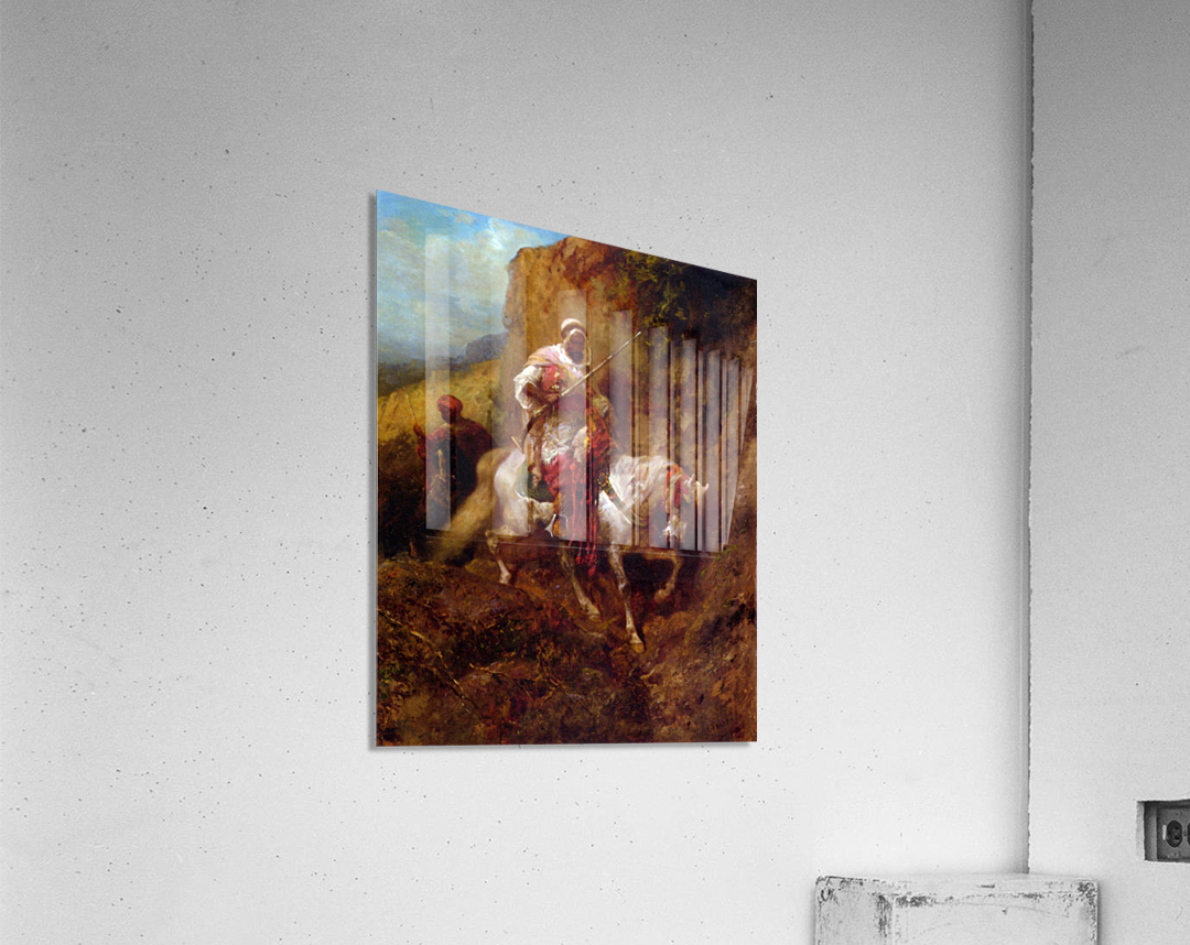 Arab warrior  Acrylic Print
