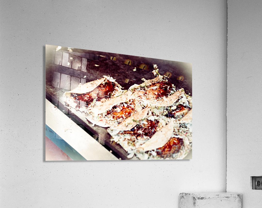 Street Okonomiyaki  Acrylic Print