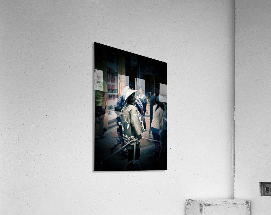 Past Meets Present  Acrylic Print