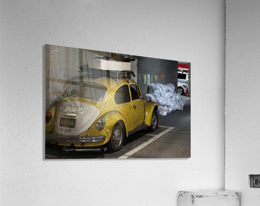 Punch Buggy Yellow No Punchbacks  Acrylic Print