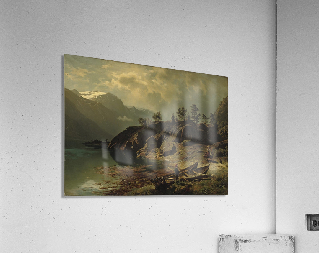 An einem Bergsee  Acrylic Print