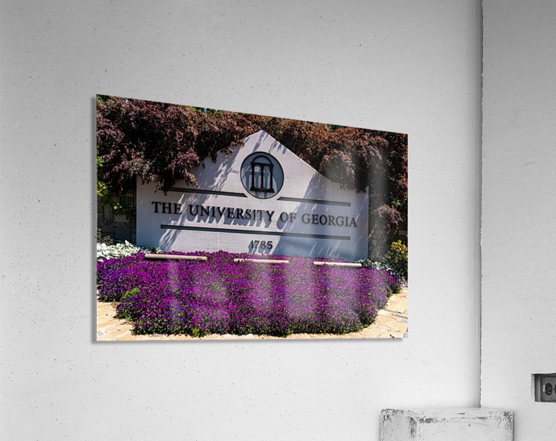 University of Georgia   Athens GA 07028  Acrylic Print